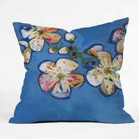 DENY Designs Home Accessories | Land Of Lulu Apple Blossoms 2 Throw Pillow