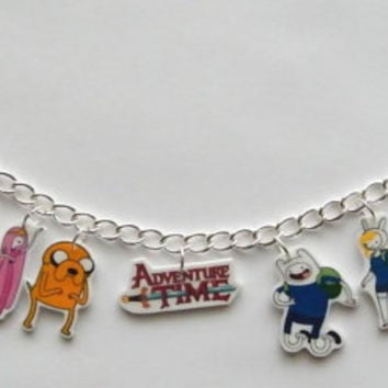 Adventure Time Finn and Jake Finn Novelty Charm by Murals4U