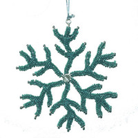 Coral Snowflake Ornament | OceanStyles.com