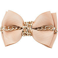 Karina Chain Bow Barrette Beige Ulta.com - Cosmetics, Fragrance, Salon and Beauty Gifts