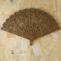 Free People Vintage Victorian Metal Fan