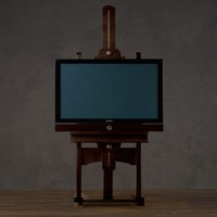 TV Easel | Artifacts | Restoration Hardware