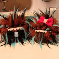 Bowtie or Hairbow Monster