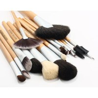 Amazon.com: BOSTON WORLD Golden 24 PCS Professional Makeup Brush Set Include Golded Pouch: Everything Else