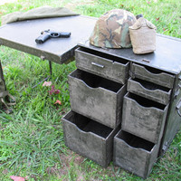 Vintage Military Field Desk US by ifindubuy on Etsy
