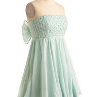 Muddled Mint Dress | Mod Retro Vintage Printed Dresses | ModCloth.com