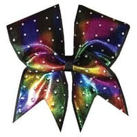 Amazon.com: Idol Shimmer Tie Dye Cheer Bow: Sports & Outdoors