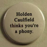 Literary 1.5&quot; Button - Catcher in the Rye