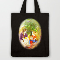 Our Christmas Tote Bag by Vargamari | Society6