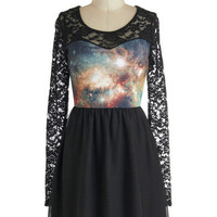 Space Lace Dress | Mod Retro Vintage Dresses | ModCloth.com