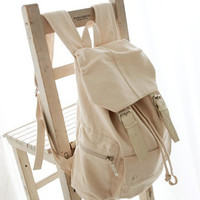 Fashion Girl Casual Punk Cute Canvas Shoulder Bag Backpack Satchel School Book