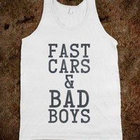 Fast Cars & Bad Boys - Pop Culture
