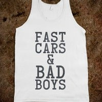 Fast Cars &amp; Bad Boys - Pop Culture