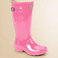 Hunter - Kid's High Gloss Original Tall Rain Boots