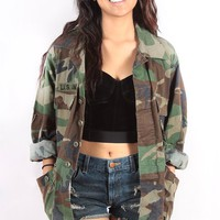 Camo Jacket from Vintage Love
