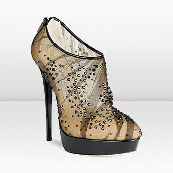 Jimmy Choo glamour exquisite crystals Boot - $223.00