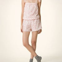 Floral print jumpsuit - Nighties &amp; Jumpsuits - View all collection - United Kingdom