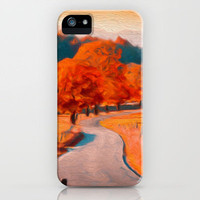 Seasonal iPhone Case by Joel Olives | Society6