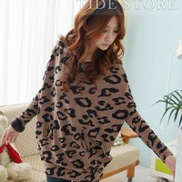 Cheap Bat Sleeve Floral Imprint Blouse: tidestore.com