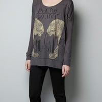 GOLD LEOPARDS T-SHIRT - Woman - New this week - ZARA United States