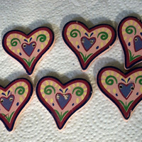 Heart Shape Buttons