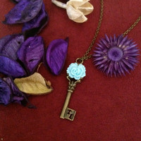 Lolita key charm pendant necklace