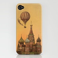 Moving to Moscow  iPhone Case by Terry Fan | Society6