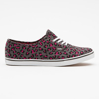 Vans Leopard Canvas Authentic Lo Pro