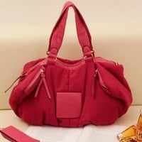 Latest Red Casual Many Pockets Handbags : Wholesaleclothing4u.com