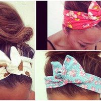 3 for 26 Dollars - Dolly Bow Wire Headband