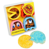 ThinkGeek :: Pac-Man Cookie Cutters