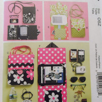 New McCalls pattern Case for E Reader in 3 sizes i pod blackberry smart phone case in 2 sizes
