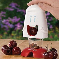 Amazon.com: Harold Import 00508 &quot;Talisman Designs&quot; Cherry Chomper Cherry Pitter: Kitchen &amp; Dining