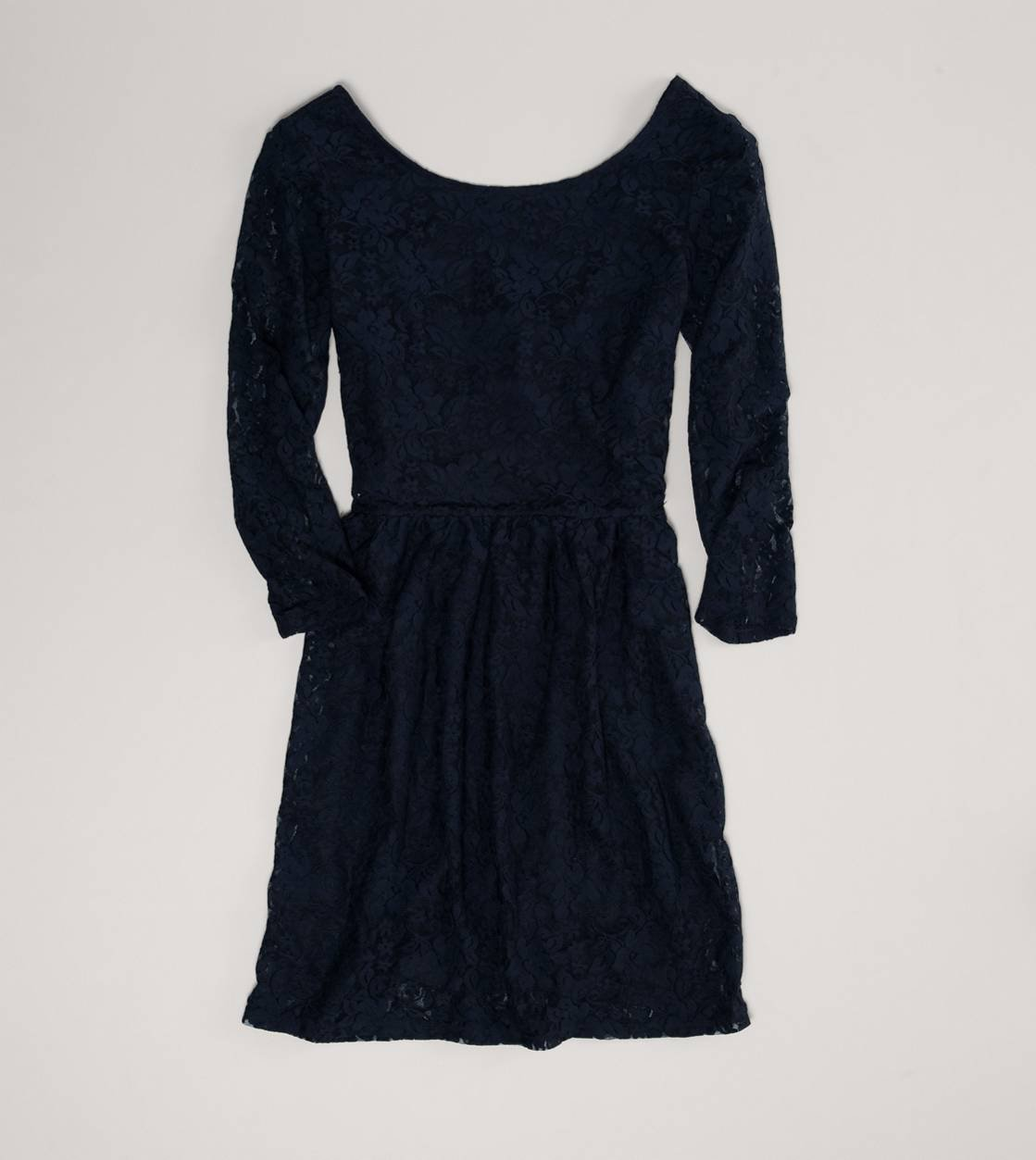AE Lace Open Back Dress | American Eagle Outfitters