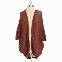 monday mornings knitted dolman cardi in dusty rose - &amp;#36;48.99 : ShopRuche.com, Vintage Inspired Clothing, Affordable Clothes, Eco friendly Fashion