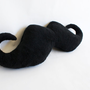 Large Black Mustache Body Pillow