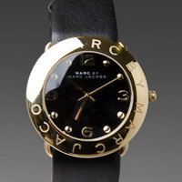 Marc by Marc Jacobs Amy Watch in Black from REVOLVEclothing.com