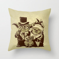 a (very) long time ago Throw Pillow by VINTZ | Society6