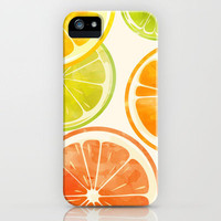 sunset fruit. iPhone Case by Sara Eshak | Society6
