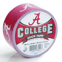 Duck Brand 240077 University of Alabama College Logo Duck Tape, 1.88-Inch by 10 Yards | www.deviazon.com