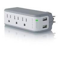 Amazon.com: Belkin Mini Surge Protector Dual USB Charger: Electronics