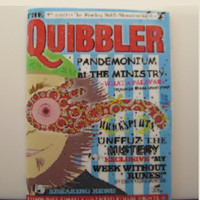 The Quibbler magazine from Harry Potter in miniature by LittleWooStudio
