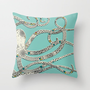 Octopus Throw Pillow by Rachel Russell | Society6