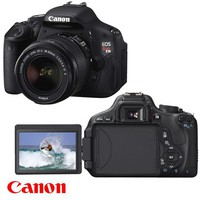 Canon EOS Rebel T3i 18 MP CMOS APS-C Sensor DIGIC 4 Image Processor Digital SLR Camera with EF-S 18-55mm f/3.5-5.6 IS Lens + Canon EF 75-300mm f/4-5.6 III Telephoto Zoom Lens | www.deviazon.com