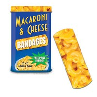 Macaroni & Cheese Bandages Novelty Gag Band Aids