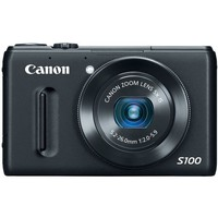 Canon PowerShot S100 12.1 MP Digital Camera with 5x Wide-Angle Optical Image Stabilized Zoom (Black) | www.deviazon.com