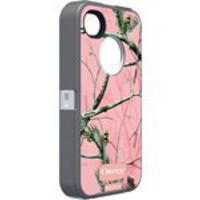 Otterbox Defender Realtree Series for iPhone 4/4S - 1 Pack - Case - Retail Packaging - Pink/APC Camo Pattern