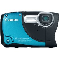 Canon PowerShot D20 12.1 MP CMOS Waterproof Digital Camera with 5x Image Stabilized Zoom 28mm Wide-Angle Lens a 3.0-Inch LCD and GPS Tracking (Blue) | www.deviazon.com