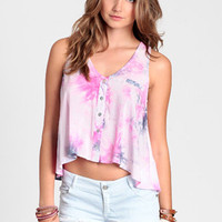 Hippie Delight Tie Dye Tank - $32.00 : ThreadSence, Women's Indie & Bohemian Clothing, Dresses, & Accessories