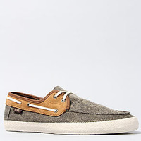 The Chauffeur LE Boat Shoe in Khaki